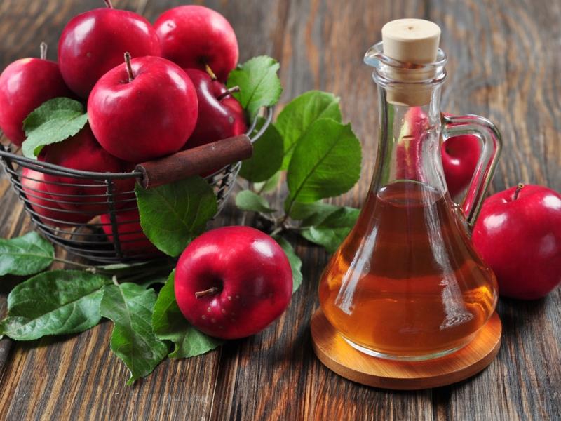 Dấm táo và mật ong