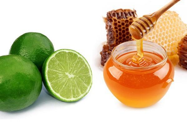 Uống nước chanh tươi với mật ong