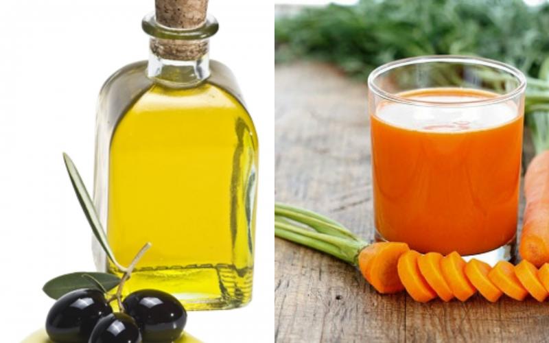 Uống nước ép cà rốt mỗi ngày để có một đôi mắt sáng khoẻ