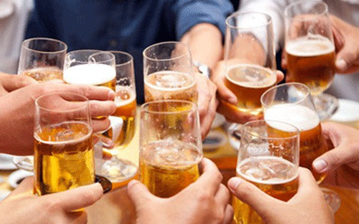 Uống rượu, bia từ từ