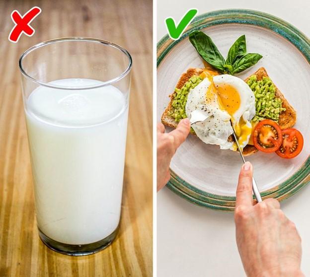 Uống sữa để tạo ra sữa