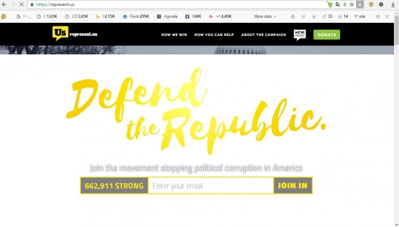 Trang web có tên miền .us