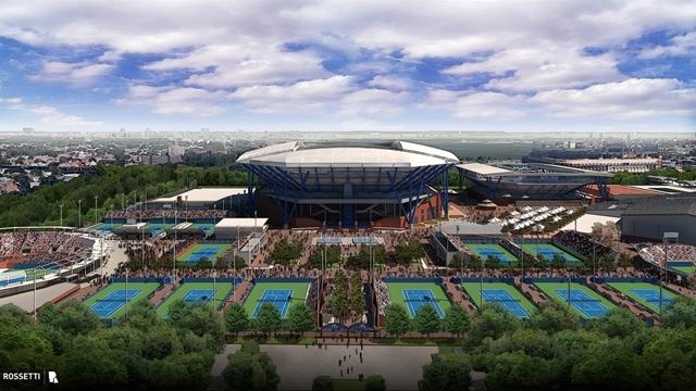 Sự hoành tráng của nơi tổ chức US Open