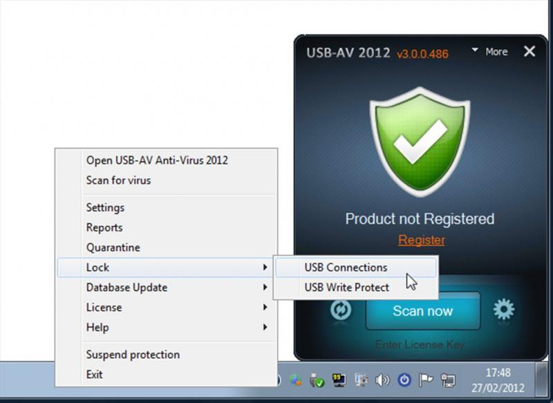 USB AV antivirus