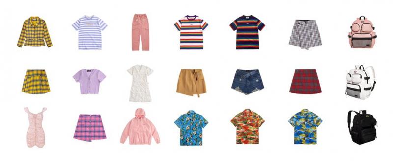 Các mẫu quần áo tại  Usthebasic