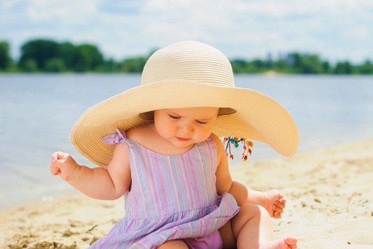 Bảo vệ da của bé dưới ánh nắng