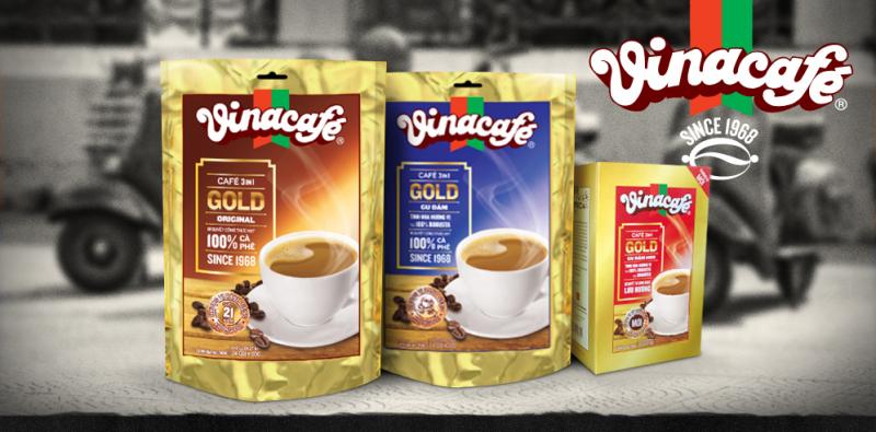 Một số dòng sản phẩm của Vina cafe