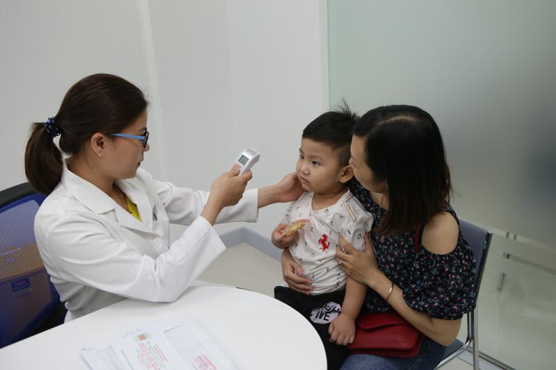 Kiểm tra trước khi cho bé uống Vacxin phòng virus rota (RV)
