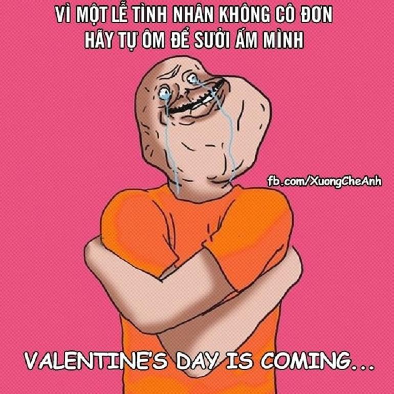 Valentine không cô đơn