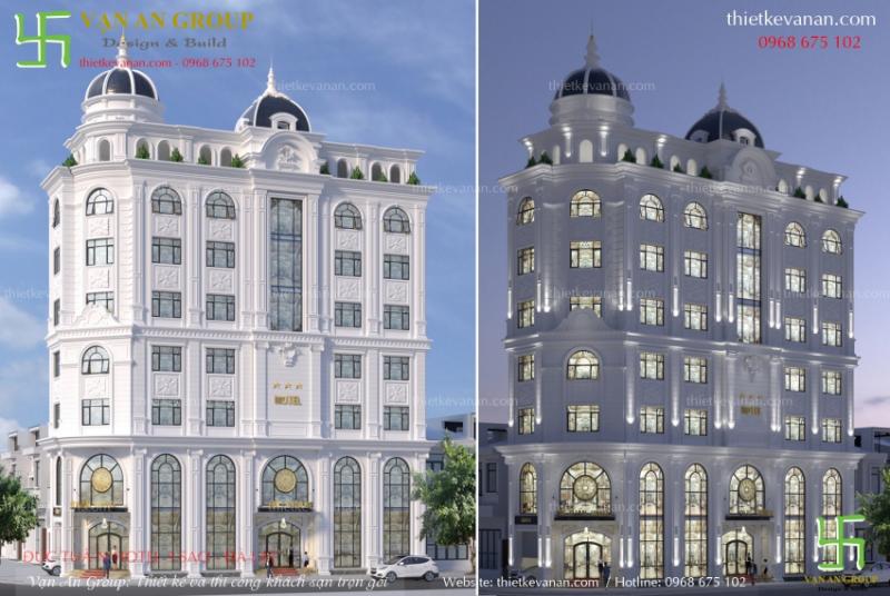 Vạn An Group thiết kế và thi công khách sạn