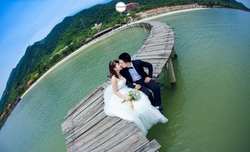 Chụp ảnh cưới tại Bãi Dài - Vân Đồn