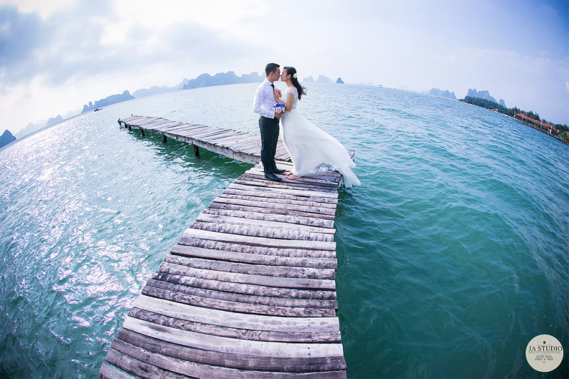 Chụp ảnh cưới ở Vân Đồn Quảng Ninh
