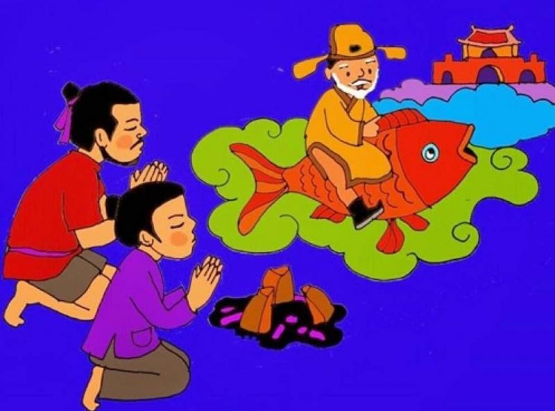 Hình ảnh minh họa cúng ông Táo về trời
