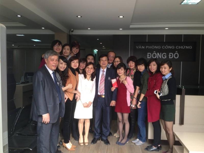Đội ngũ nhân viên Văn phòng công chứng Đông Đô