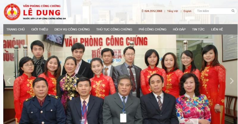 Văn phòng công chứng Lê Dung