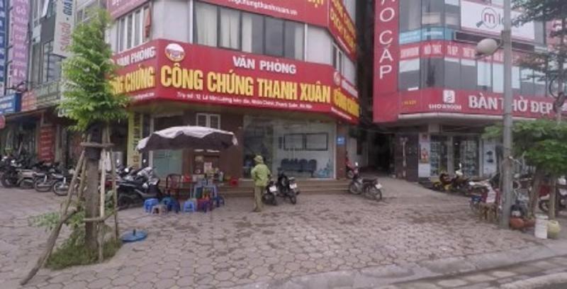 Văn phòng công chứng Thanh Xuân