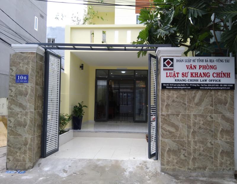 Văn phòng luật sự Khang Chính