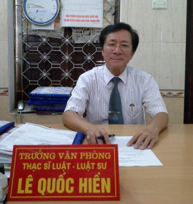 Luật sư Lê Quốc Hiền có nhiều kinh nghiệm chuyên môn trong các lĩnh vực như Dân sự, Hình sự, Doanh nghiệp, Hành Chính...
