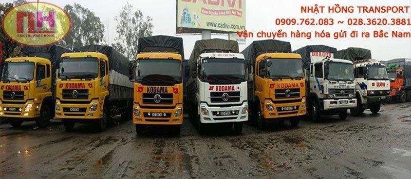 Số lượng xe tải lớn đảm bảo đáp ứng tôi đa nhu cầu dịch vụ vận chuyển Bình Dương của bạn