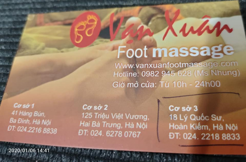 Vạn Xuân Foot Massage