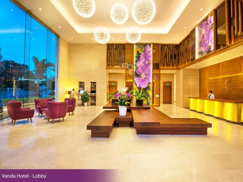 Và không gian tuyệt đẹp bên trong Vanda Hotel