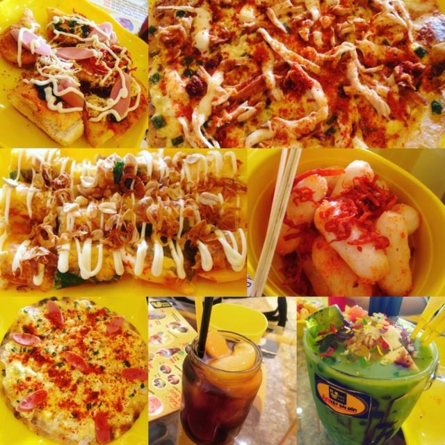 Một số món ăn tại Vàng Khè
