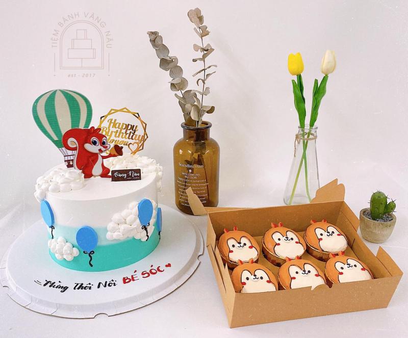 Vàng Nâu Cake Studio