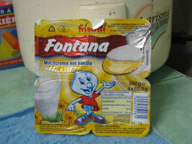 Váng sữa Fontana bổ sung lượng lớn vi lợi khuẩn rất tốt cho hệ tiêu hóa của trẻ