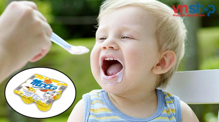 Váng sữa Mixxo có thể kết hợp thêm với các loại hoa quả, trái cây giúp tăng cường Vitamin