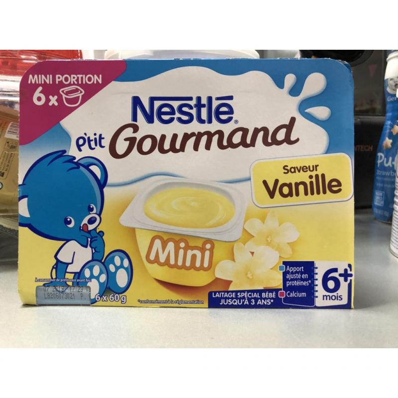Váng sữa Nestle vị vani cung cấp dồi dào chất dinh dưỡng, rất được các mẹ yêu thích