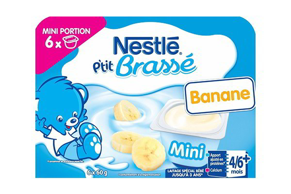Váng sữa Nestle vị chuối