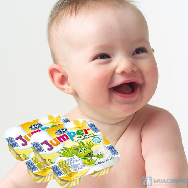 Váng sữa Zoma Jumper có hàm lượng cholesterol thấp