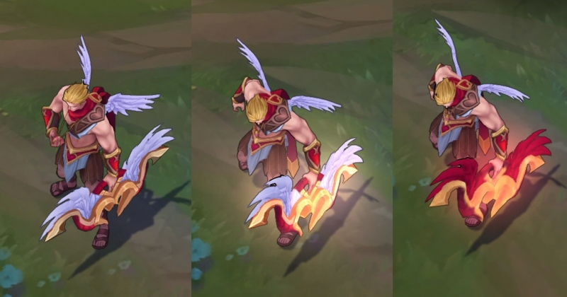 Varus mũi tên tình ái vô cùng quyến rũ với đôi cánh tình yêu