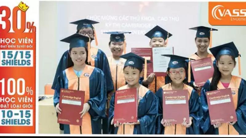 Thành tích của học viên tại VASS