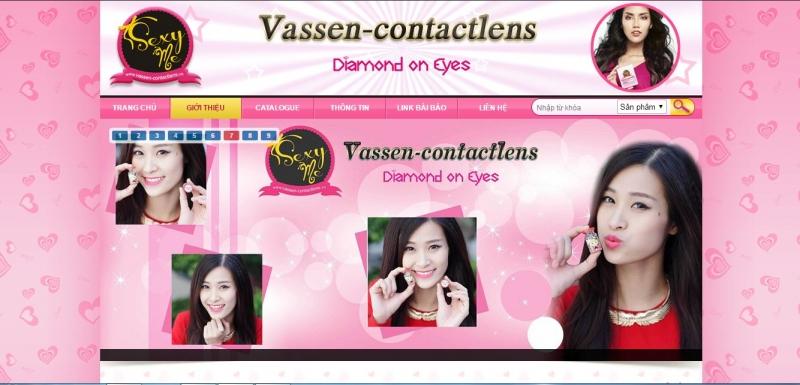 Website của Vassen Vietnam Contact Lens