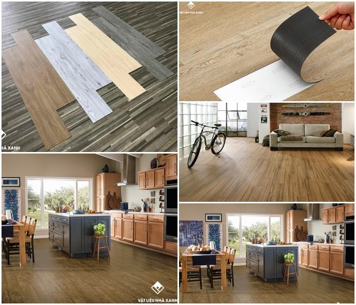 Vật Liệu Nhà Xanh cung cấp sàn nhựa giả gỗ chất lượng