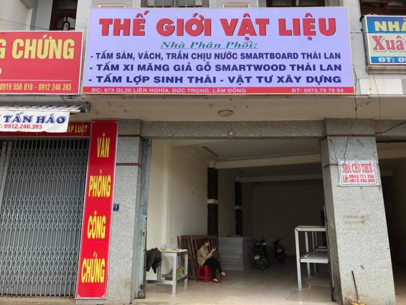 Vật Liệu Nhà Xanh Lâm Đồng
