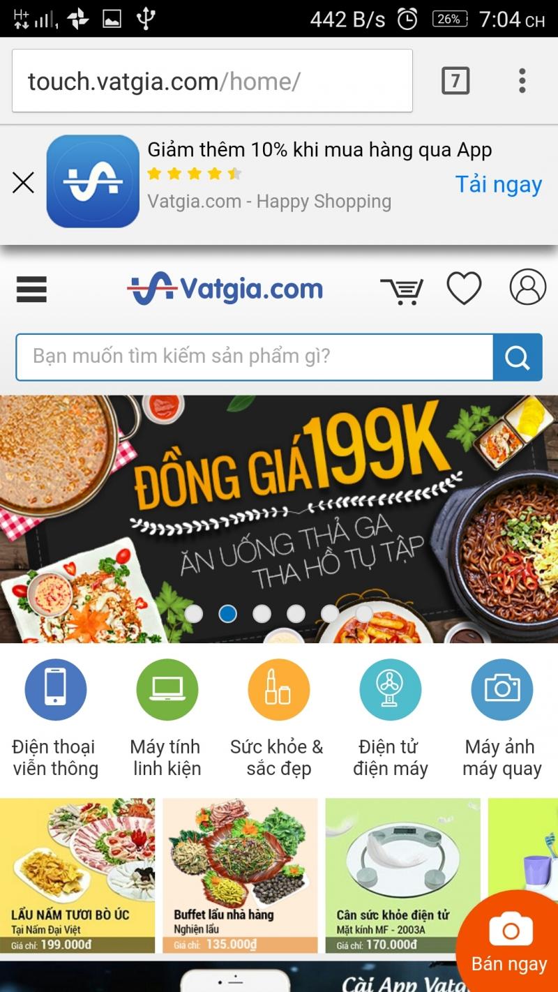 Vatgia.com là sàn giao dịch thương mại điện tử hàng đầu Việt Nam