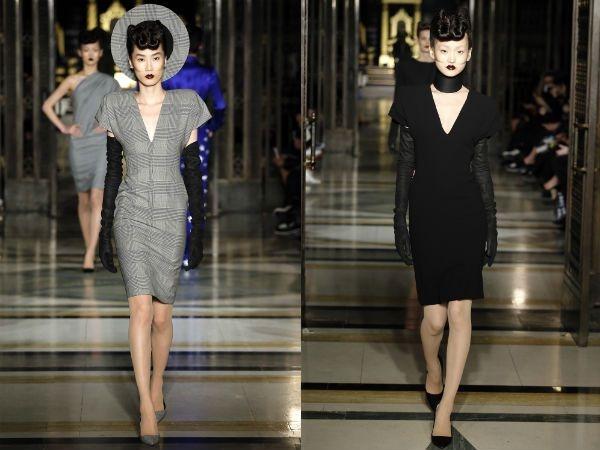 Váy bút chì làm khuynh đảo sàn diễn thời trang