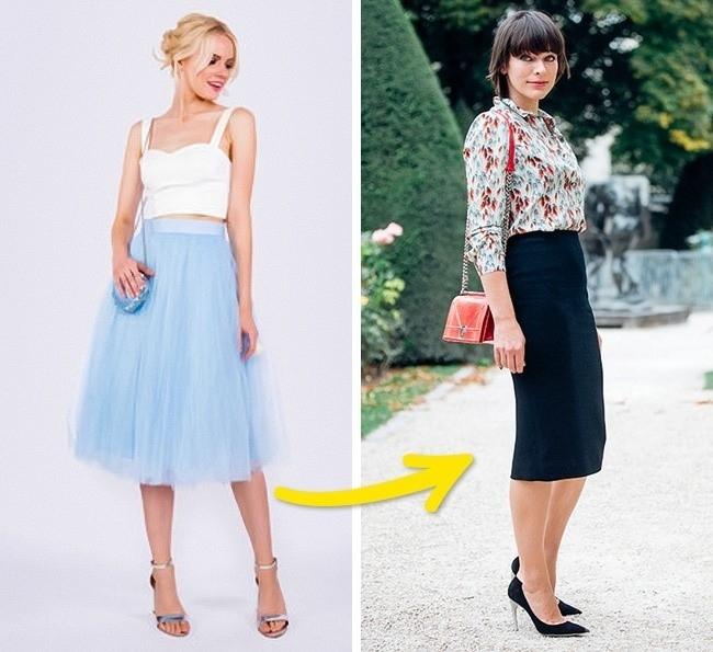 Váy cổ điển (xếp ly và dáng bút chì) sẽ có cơ hội quay trở lại, thay thế cho váy vải tuyn và trở thành xu hương mới