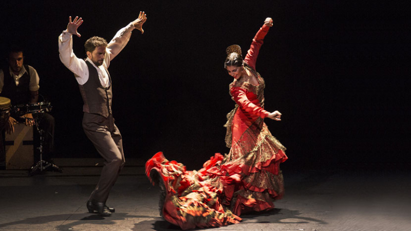 Váy Flamenco, Andalusia - Tây Ban Nha