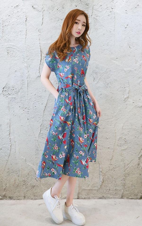 Váy phong cách boho