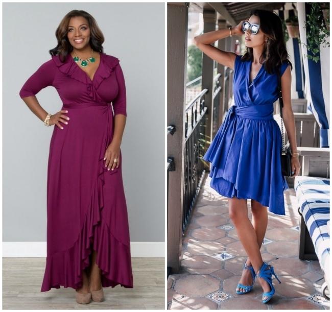 Một chiếc váy thắt nút qua phần bụng sẽ phù hợp với mọi người phụ nữ không kể cao, thấp, gầy hay béo