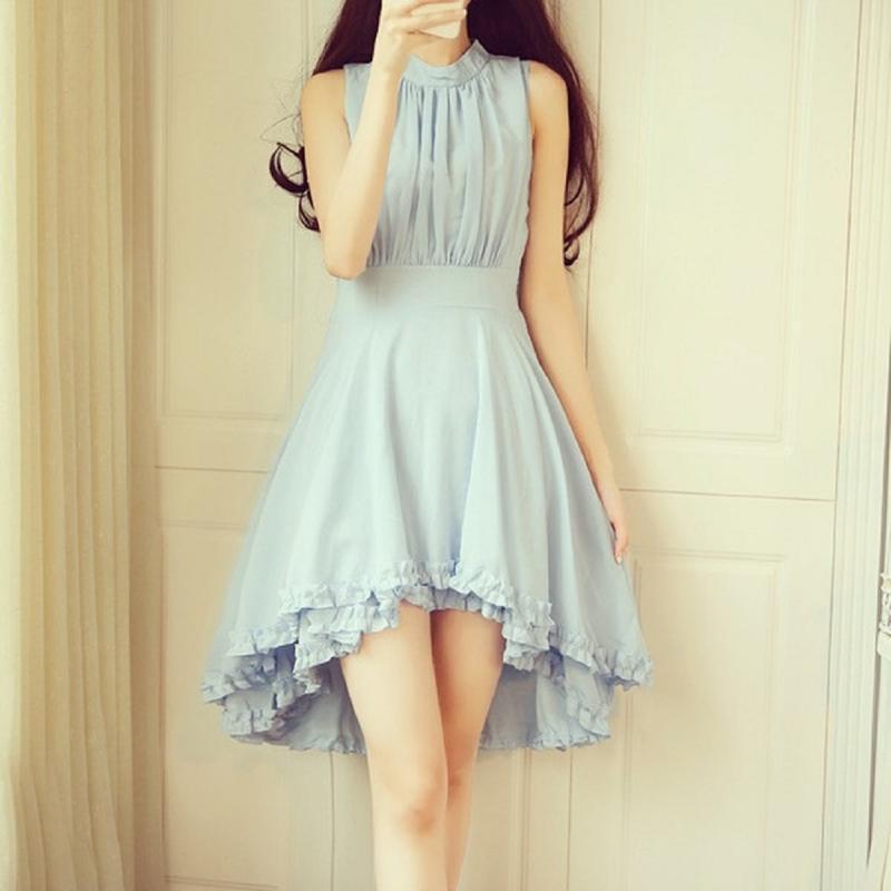 Chiếc váy voan ngang đùi là một lựa chọn hoàn hảo