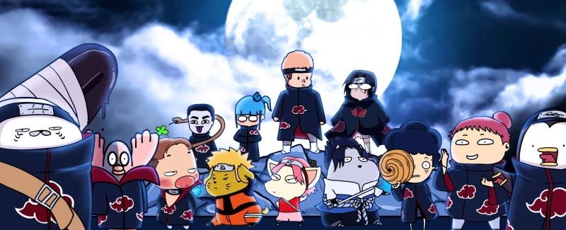 Các nhân vật của fanpage Vẽ Bậy tập hợp đông đủ trong một bức hình cover.