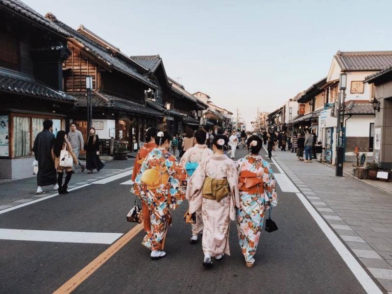 Vẻ đẹp cổ kính của phố Kawagoe