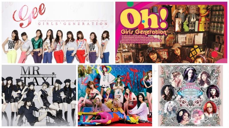Top 5 MV được xem nhiều nhất của SNSD