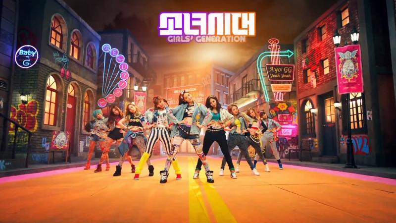 Bản Hit đình đám của các cô gái vàng nhà SM