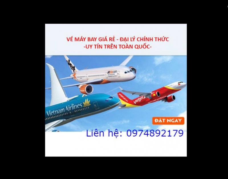 Vé máy bay giá rẻ - Đại lý chính thức - Uy tín trên toàn quốc