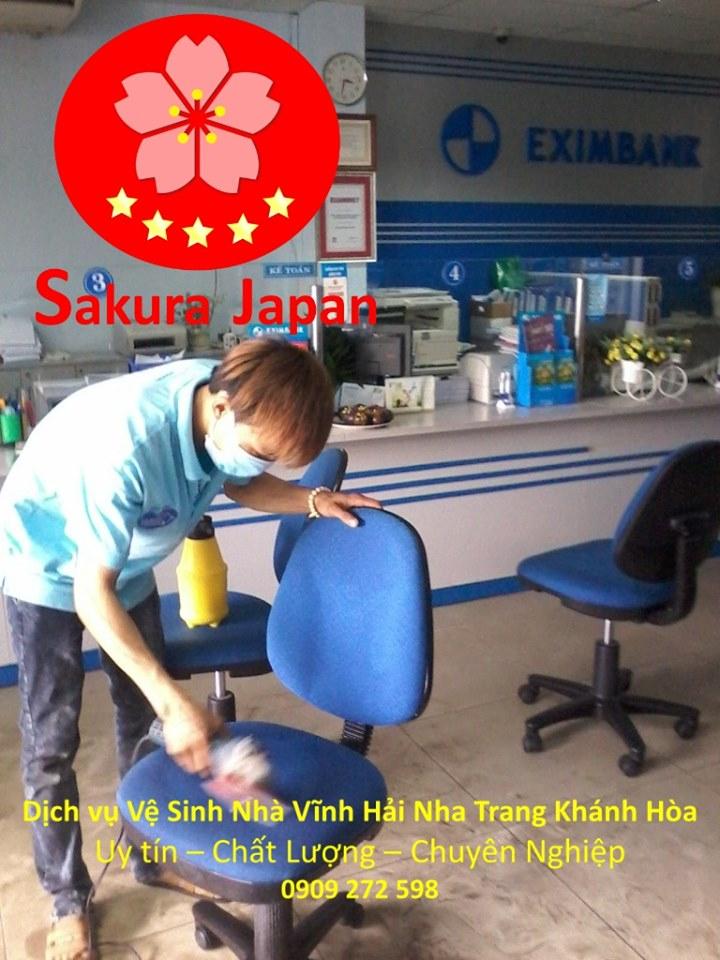 Vệ sinh công nghiệp Nha Trang Sakura